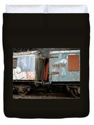 Kissing Cars Duvet Cover