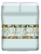 Kitchen Goddess Duvet Cover