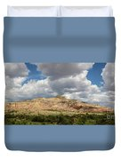 Kitchen Mesa Panorama Duvet Cover
