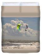 Kite Boarding Buxton Obx  Duvet Cover