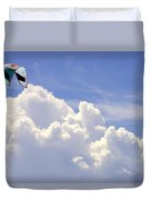 Kite In The Clouds Obx Buxton North Carolina Duvet Cover
