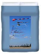 Kite Season Duvet Cover