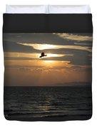 Kite Sunset Duvet Cover