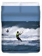 Kite Surfing Duvet Cover