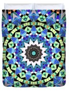 Kite Tiles Mandala Duvet Cover