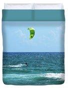 Kitesurfer Dude Duvet Cover