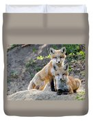 Kits At Rest Duvet Cover