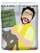 Kitten Mittons Duvet Cover