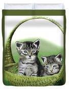 Kitty Caddy Duvet Cover