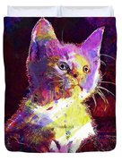 Kitty Cat Kitten Pet Animal Cute  Duvet Cover