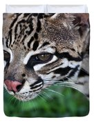 Kitty Ocelot 1 Duvet Cover