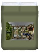 Knaresborough Viaduct Duvet Cover