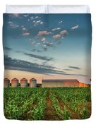 Knee High Sweet Corn Duvet Cover