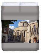 Knights Templar Church- London Duvet Cover