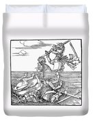 Knights: Tournament, 1517 Duvet Cover