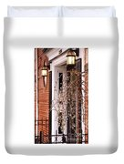Knocking At Your Door Duvet Cover