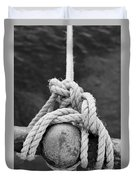 Knot On My Warf Iv Duvet Cover by Stephen Mitchell