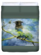 Knowing It Has Wings Duvet Cover