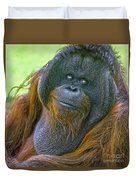 Knowing Smile Duvet Cover