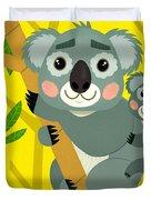 Koala Bears Duvet Cover