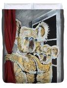 Koalas Duvet Cover