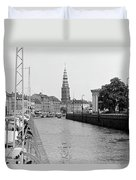 Kobenhavn Kanal Duvet Cover