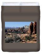 Kodachrome Basin Panorama Duvet Cover