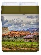 Kodachrome Cabin Duvet Cover