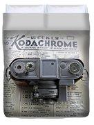 Kodachrome Weekly Duvet Cover
