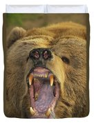 Kodiak Bear Ursus Arctos Middendorffi Duvet Cover