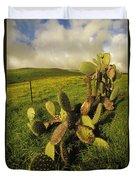 Kohala Cactus Duvet Cover