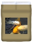 Koi Fish 5 Duvet Cover