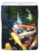 Koi Fish 2 Duvet Cover