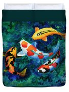 Koi Group Duvet Cover