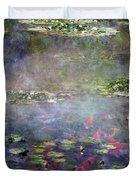 Koi N Pond Duvet Cover