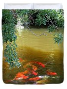Koi Party Duvet Cover