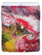 Koi With Friends Duvet Cover