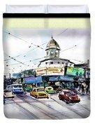 Kolkata Street Duvet Cover