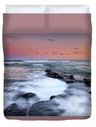 Koloa Sunset Duvet Cover by Mike  Dawson