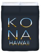 Kona Hawaii Duvet Cover