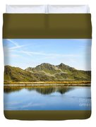 Konigsleiten Mountain Top. Tyrol, Austria Duvet Cover