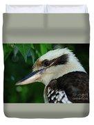 Kookaburra Portrait By Kaye Menner Duvet Cover