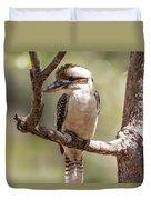 Kookaburra Sits In The Ol Gum Tree Duvet Cover