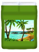 Koolina Lagoon Oahu, Hawaii #343 Duvet Cover