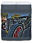 Koolsville Rat Rod. Duvet Cover by Ian  Ramsay