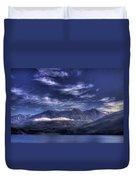 Kootenai Lake Bc Version 2 Duvet Cover