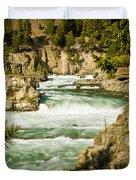 Kootenai River Duvet Cover