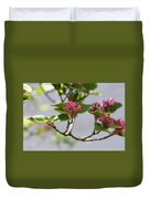 Korean Spice Viburnum Duvet Cover