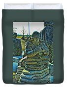 Korean War Memorial 2 Duvet Cover