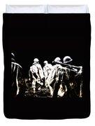 Korean War Memorial Duvet Cover